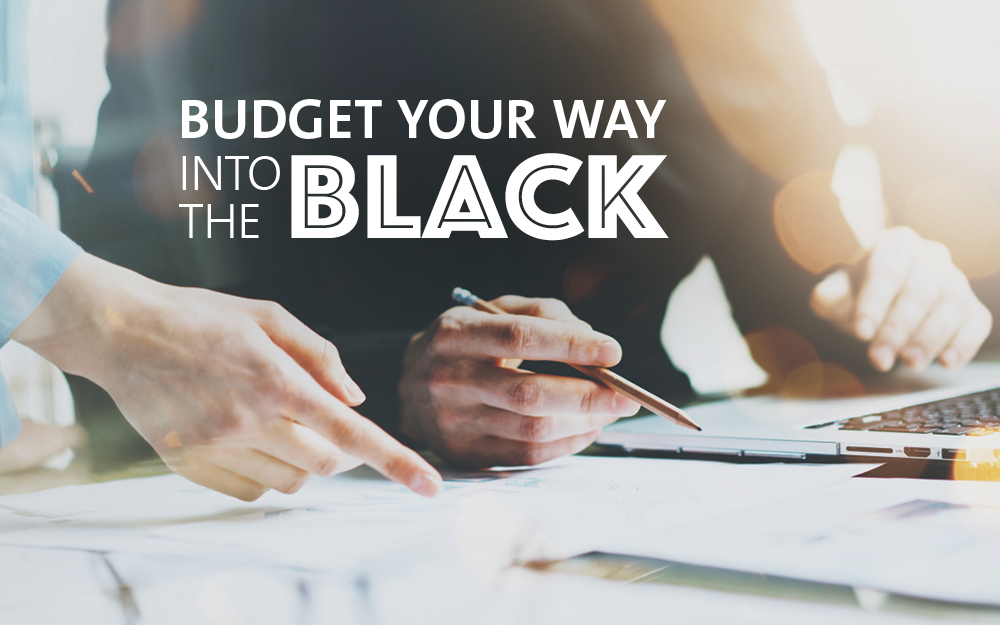 budget-your-way-to-the-black