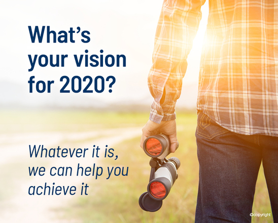 What's your vision for 2020 ?